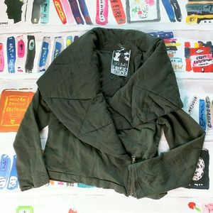 Young Fabulous & Broke Army Green Brina Jacket M